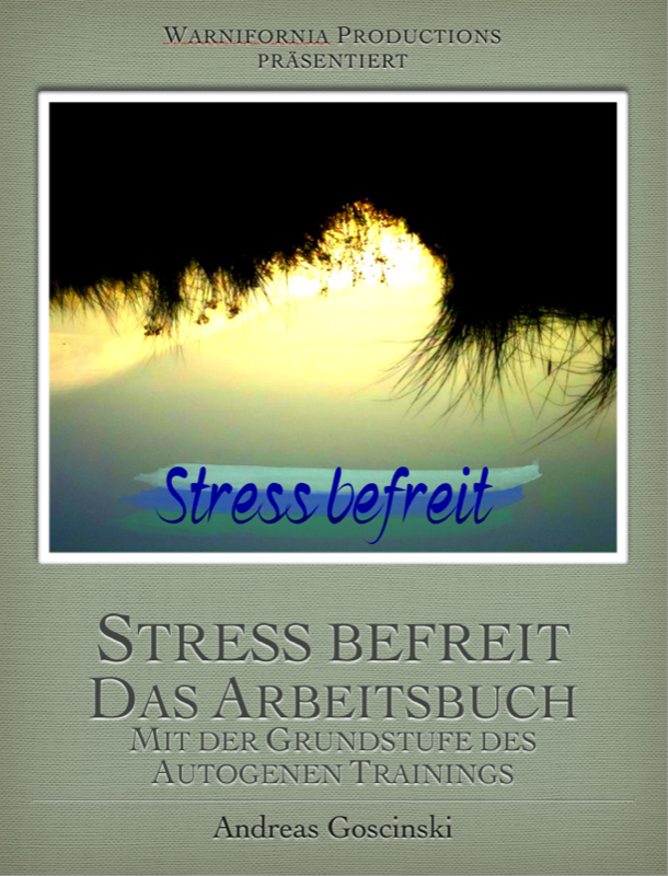 Buch cover, Stress, Autogenes Training,