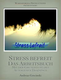 Stress befreit Arbeitsbuch Deckblatt, Autogenes Training